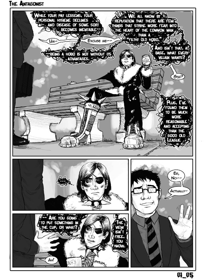 Antagonist Chapter 1 Page 5