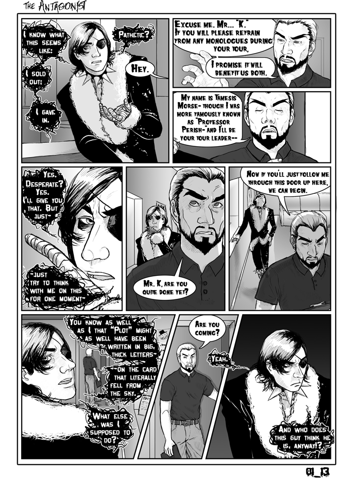 Antagonist Chapter 1 Page 13