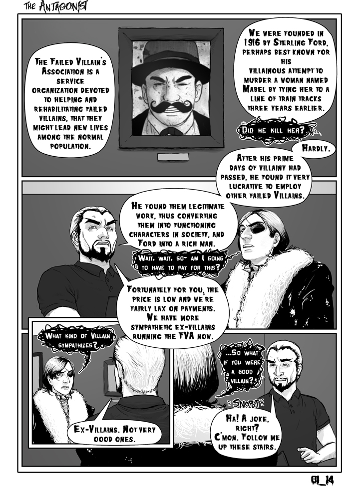 Antagonist Chapter 1 Page 14