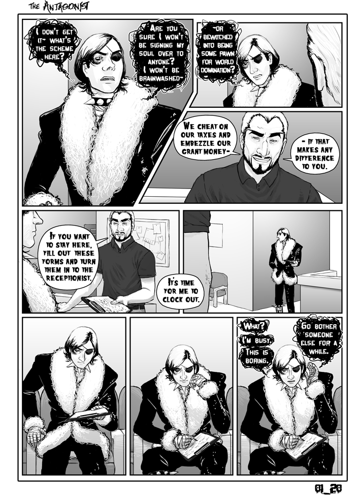 Antagonist Chapter 1 Page 20