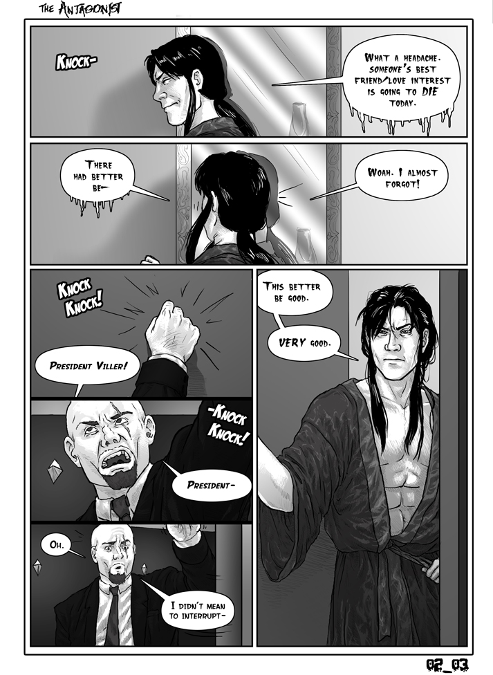 Antagonist Chapter 2 Page 3