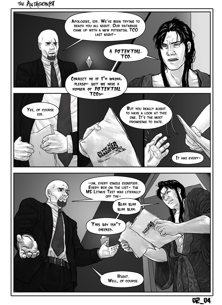 Antagonist Chapter 2 Page 4