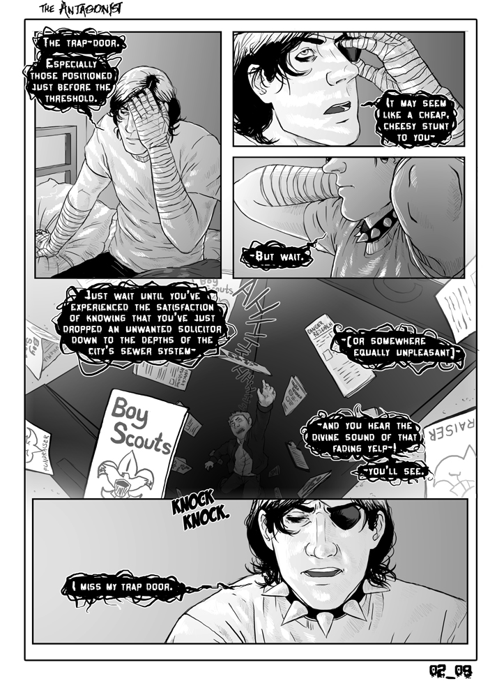 Antagonist Chapter 2 Page 9