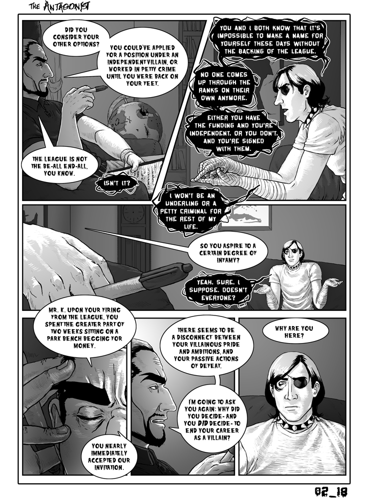 Antagonist Chapter 2 Page 18