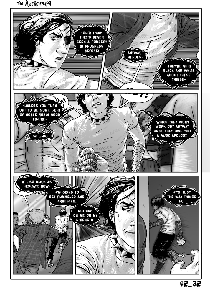Antagonist Chapter 2 Page 32