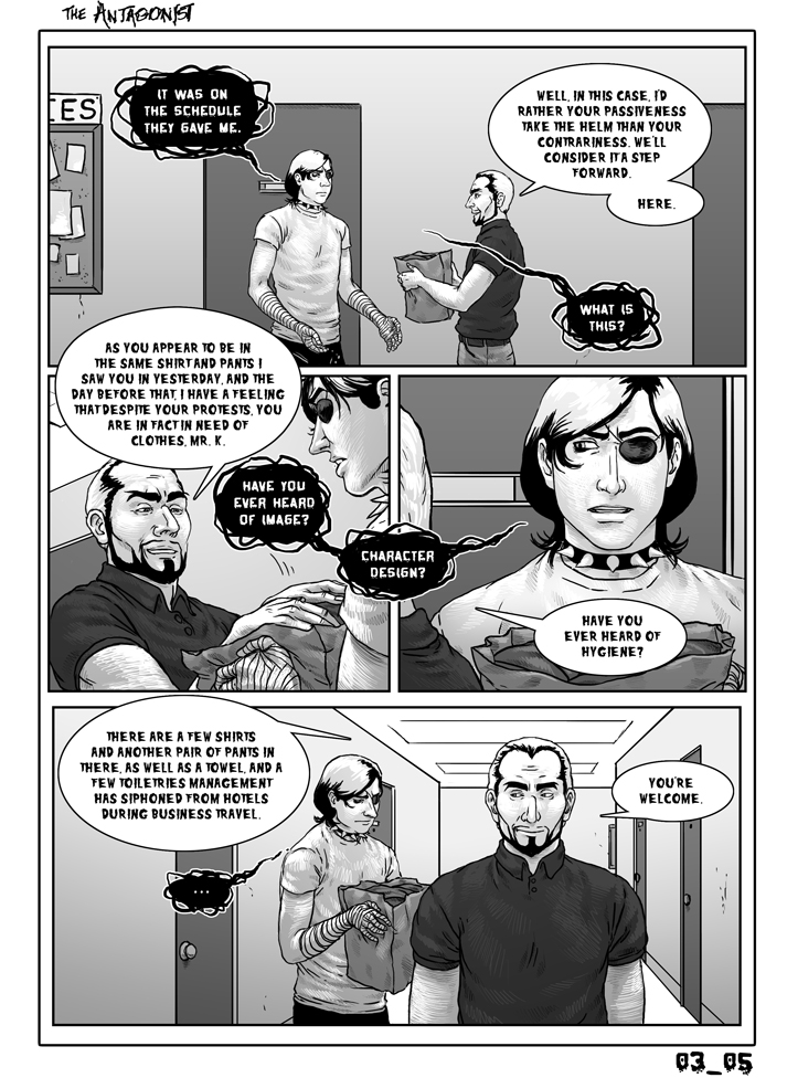 Antagonist Chapter 3 Page 5