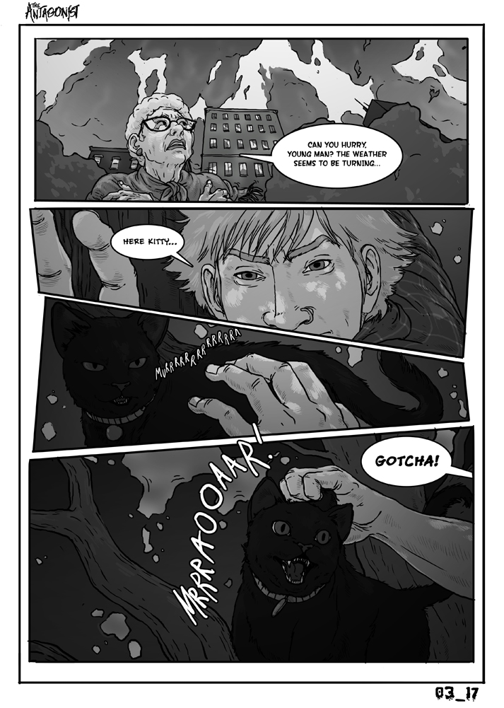 Antagonist Chapter 3 Page 17