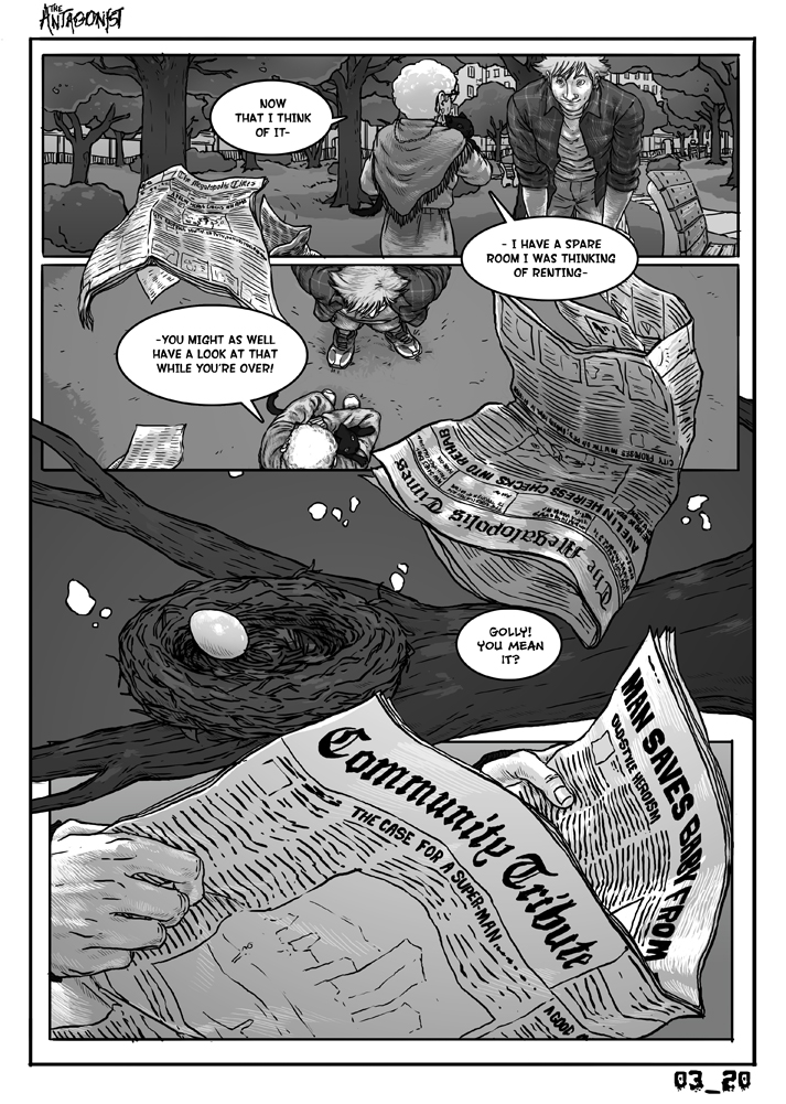 Antagonist Chapter 3 Page 20