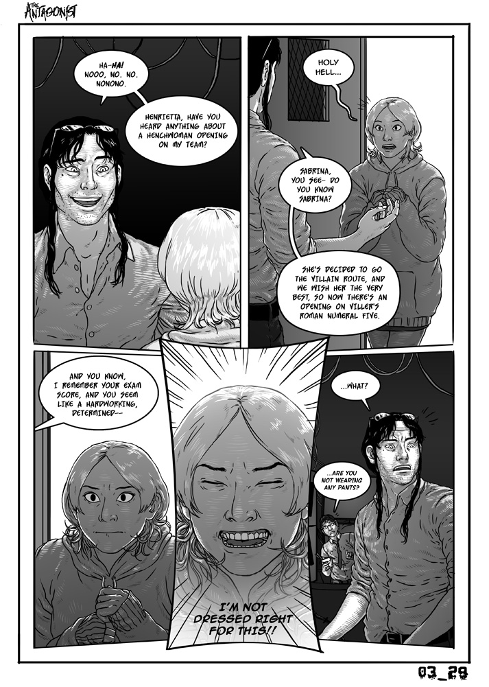 Antagonist Chapter 3 Page 29