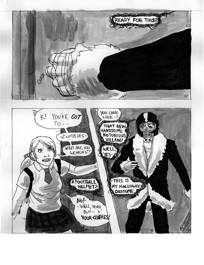 Antagonist 24 Hour Comic 2007 Page 9