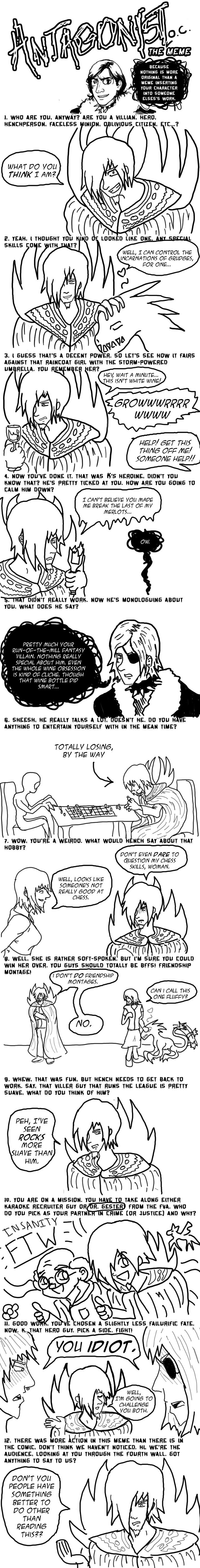 Antagonist Original Character Meme Entry #2